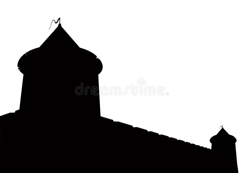 Festung lizenzfreie abbildung