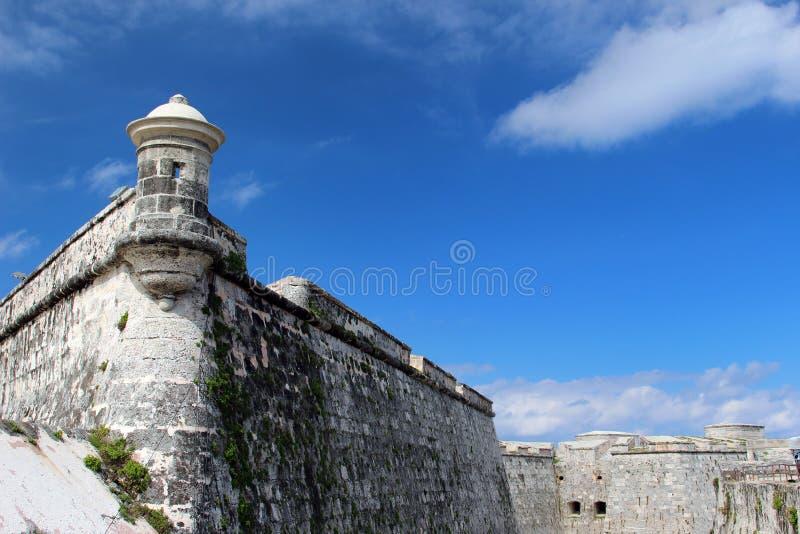 Festung EL Morro lizenzfreie stockbilder