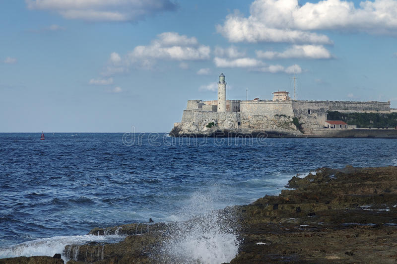 Festung EL-Morro in Havana, Kuba lizenzfreies stockfoto