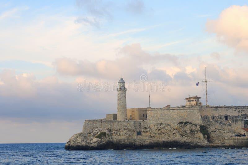 Festung EL-Morro in Havana, Kuba stockbilder