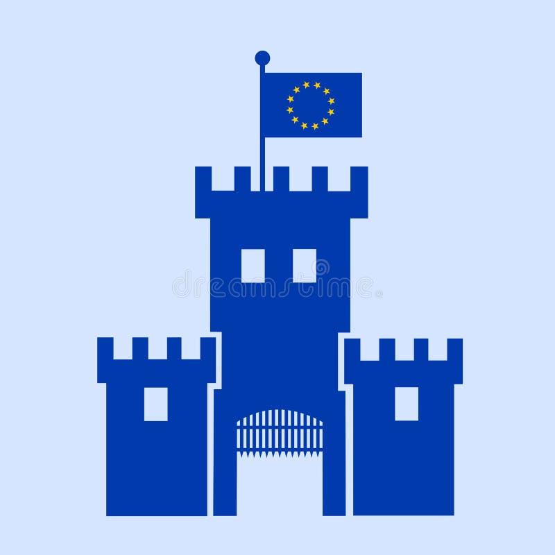 Festung Europa stock abbildung