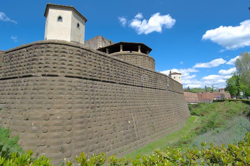 Festung in Florenz stockfoto