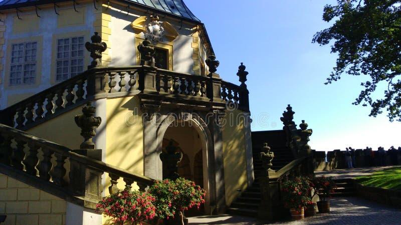 Festung Königstein Gebäude fotos de stock royalty free