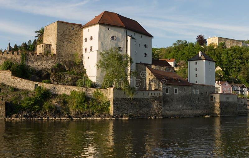 Festung Oberhaus Passau stockfotografie