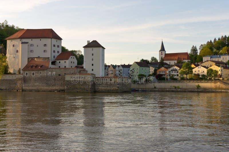 Festung Oberhaus Passau lizenzfreies stockfoto
