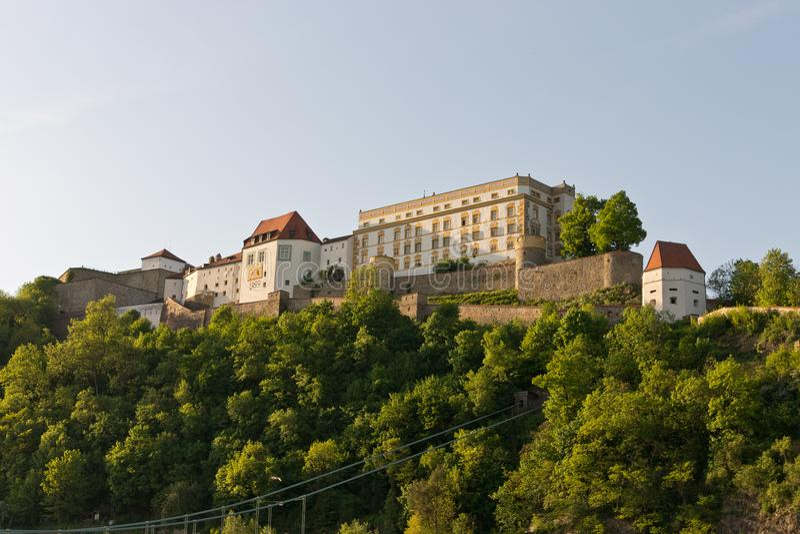 Festung Oberhaus Passau stockbild