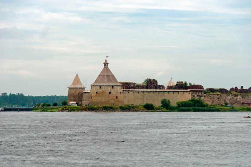 Festung Oreshek stockbilder