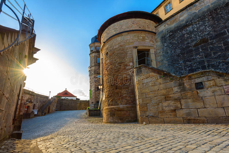 Festung Rosenberg - Kronach stockfoto