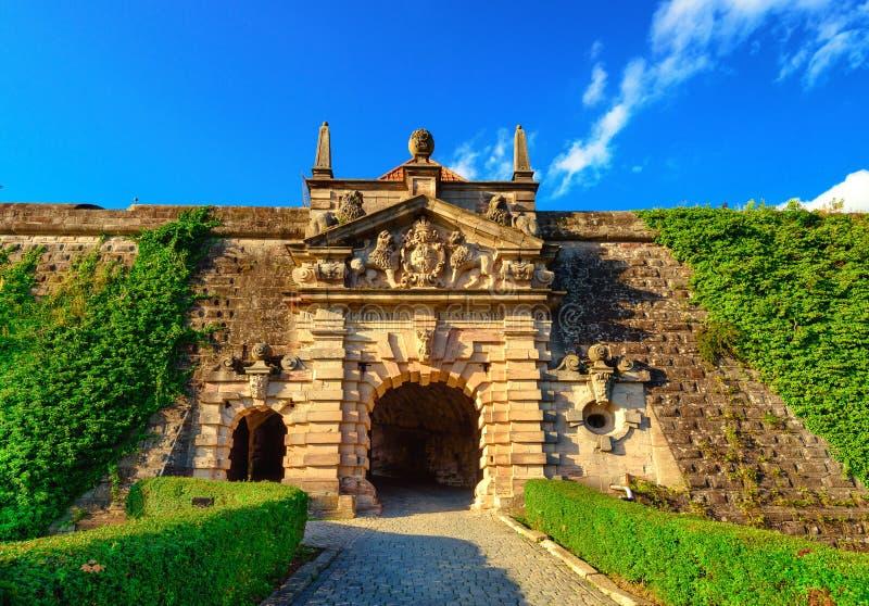 Festung Rosenberg - Kronach lizenzfreie stockfotografie