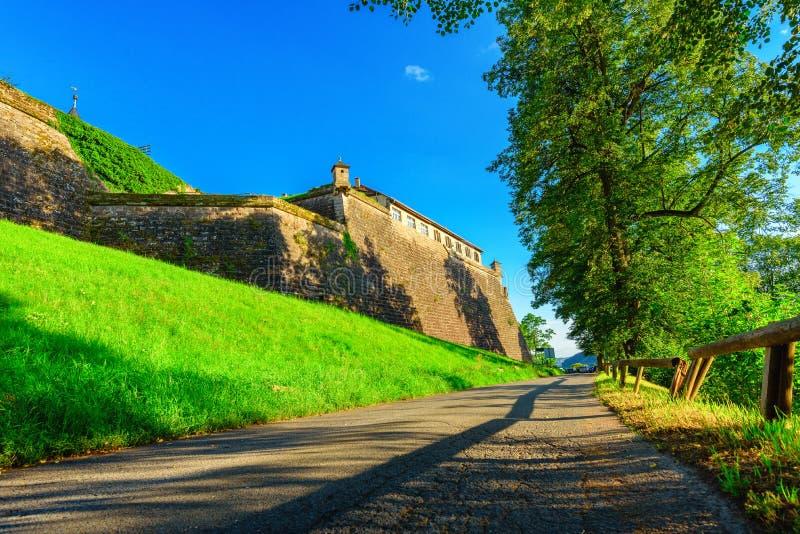 Festung Rosenberg - Kronach lizenzfreies stockbild