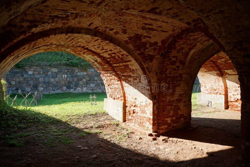 Festung von Dinaburg lizenzfreie stockfotografie