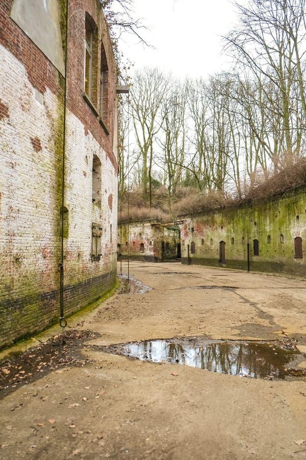Festung von Edegem, Antwerpen stockfotos