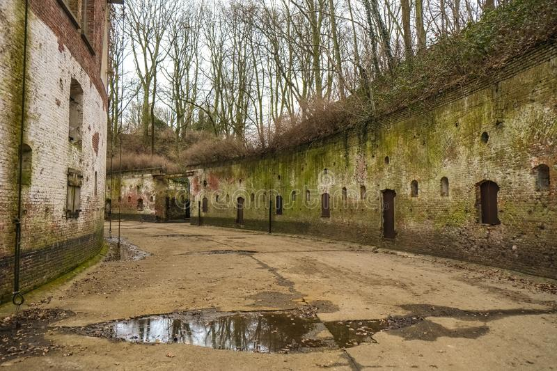 Festung von Edegem, Antwerpen stockfotografie