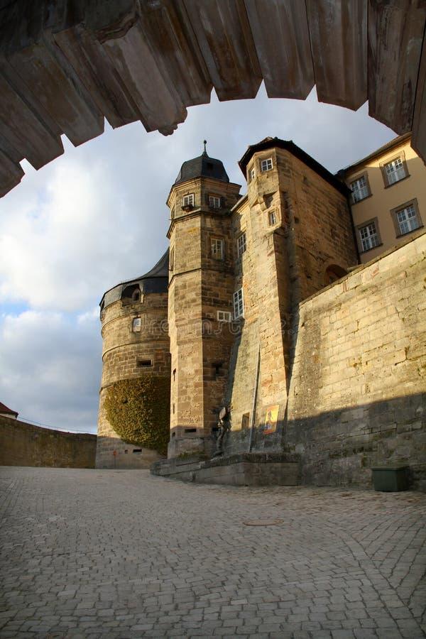Festung von Kammgarn-stoff stockbild