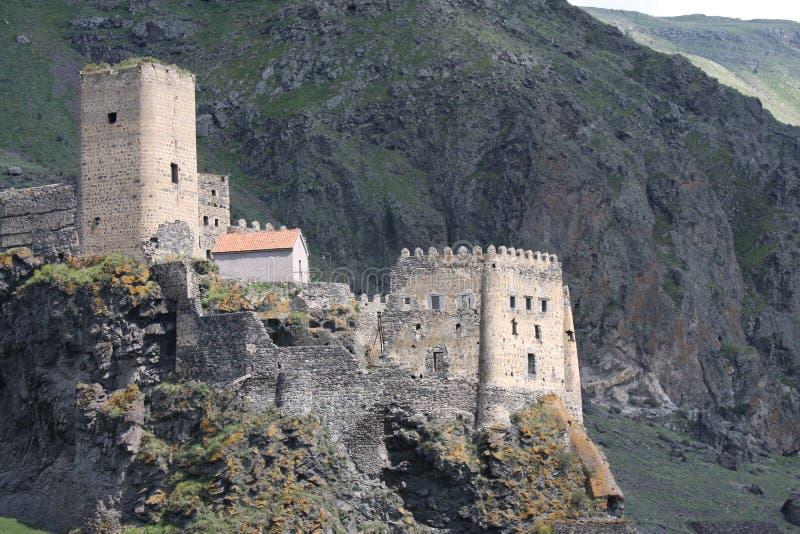 Festung von Khertvisi in Georgia lizenzfreie stockfotos