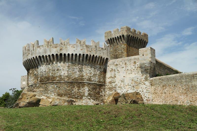 Festung von Populonia lizenzfreie stockfotografie