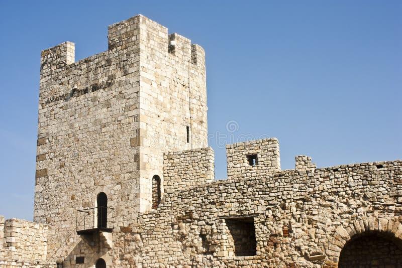 Festungskontrollturm stockbild