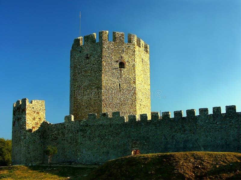 Festungskontrollturm lizenzfreies stockfoto
