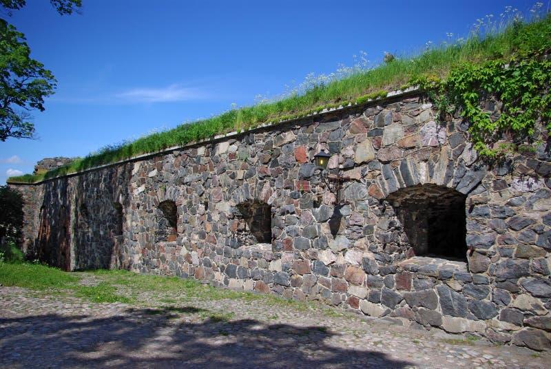 Festungswand lizenzfreies stockfoto