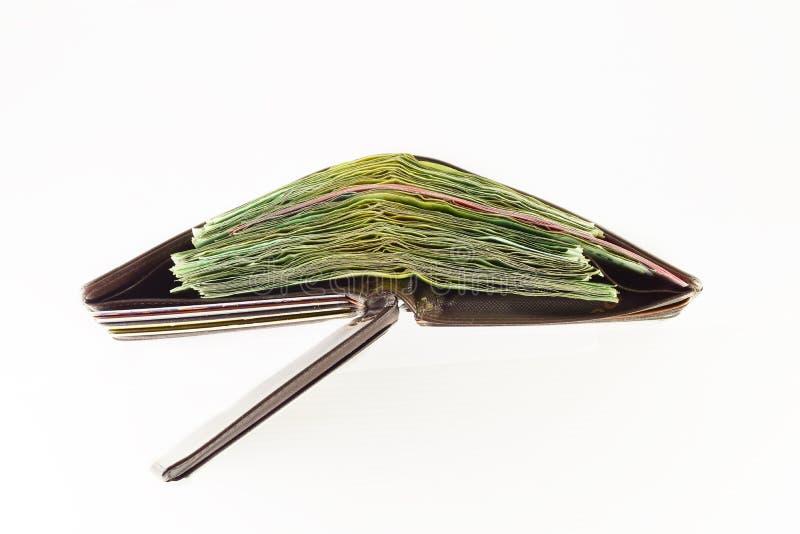 fet handväska royaltyfri bild
