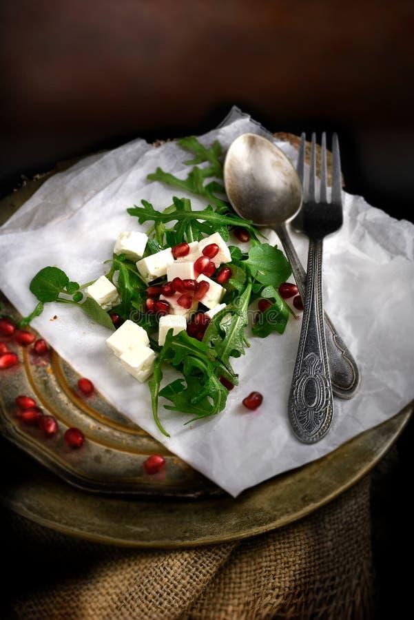 Feta-Salat III stockbilder