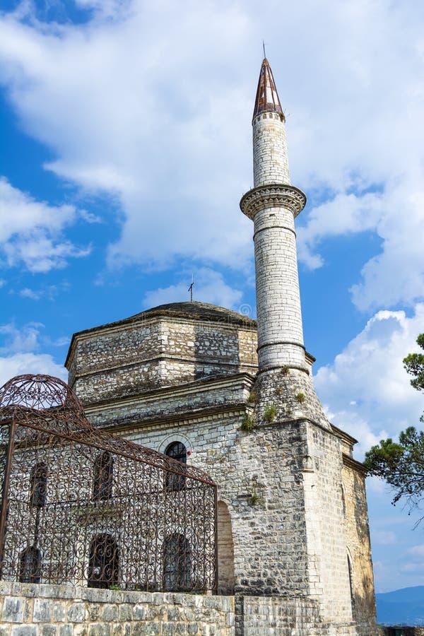 Fethiye-Moschee mit dem Grab von Ali Pasha auf dem links, Ioannina, Griechenland stockfoto
