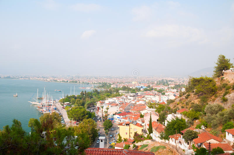 Fethiye, Turchia fotografie stock