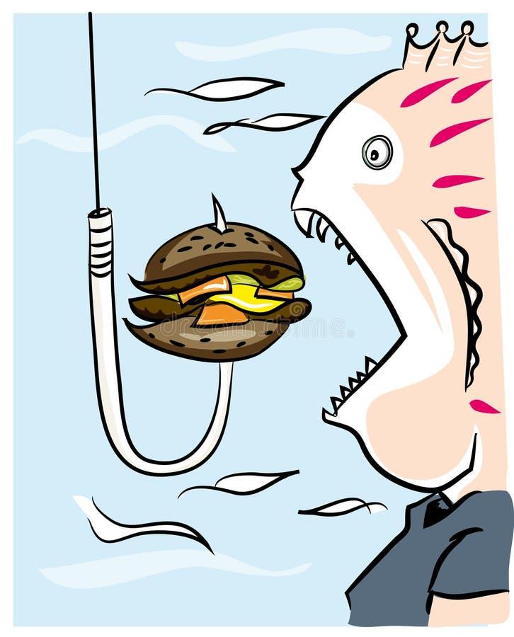 Fetma och korpulens royaltyfri illustrationer