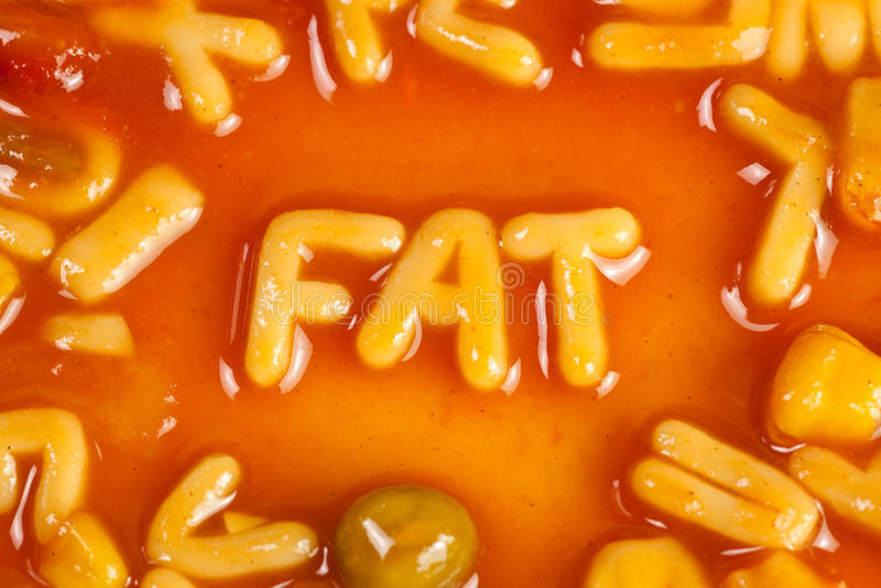 Fett lizenzfreies stockbild