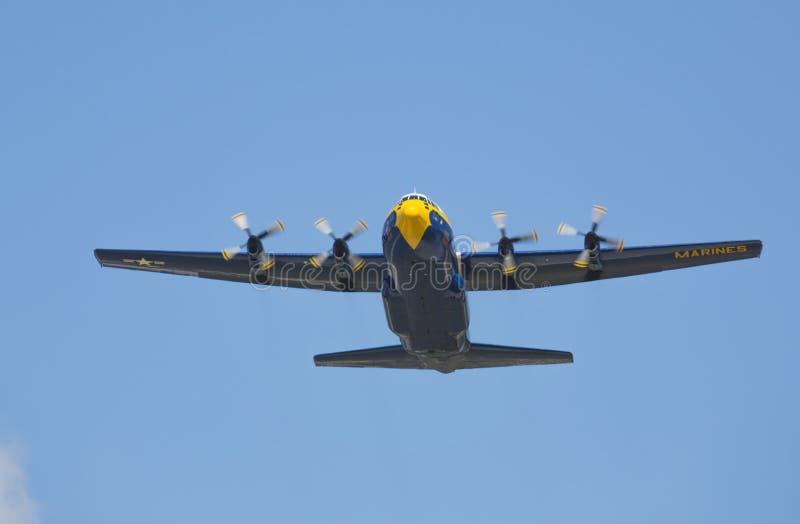 Fett Albert Herkules C-130 stockbilder