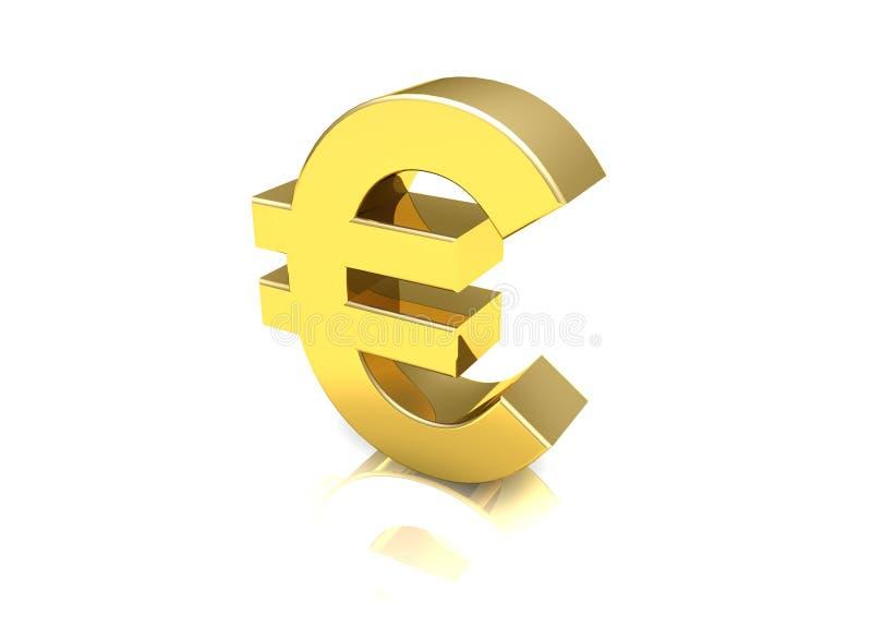 fett dollareurosymbol royaltyfria foton