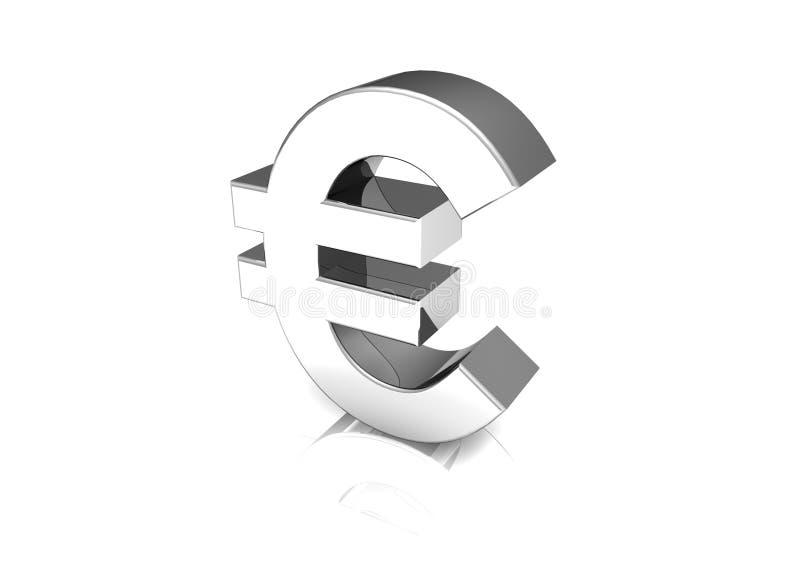 fett dollareurosymbol arkivfoto