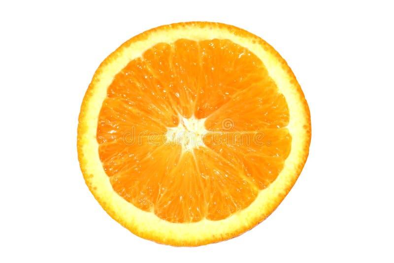 Fetta arancione fotografie stock libere da diritti