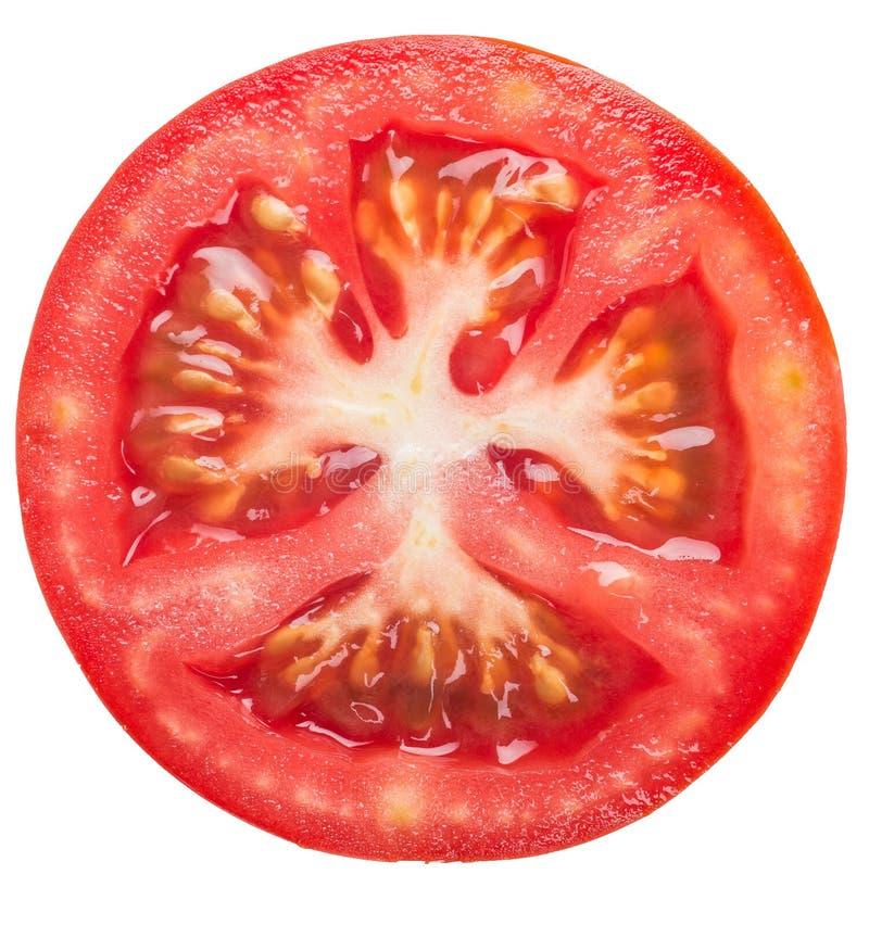 Fetta del pomodoro immagini stock