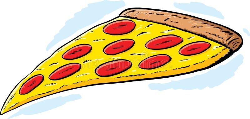 Fetta della pizza illustrazione vettoriale