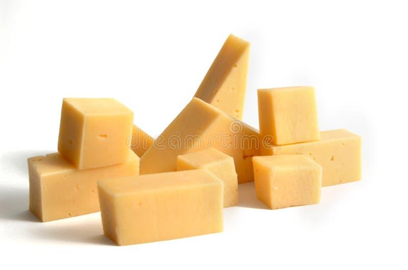 Fetta di formaggio immagine stock
