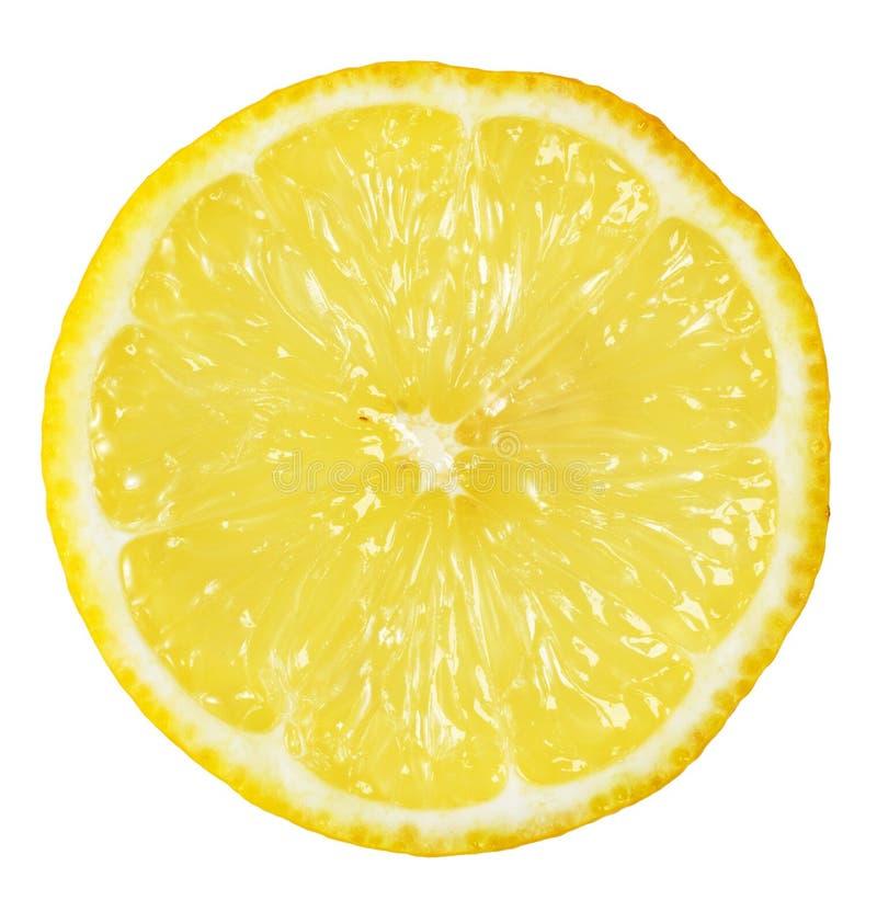 Fetta di limone fotografia stock libera da diritti