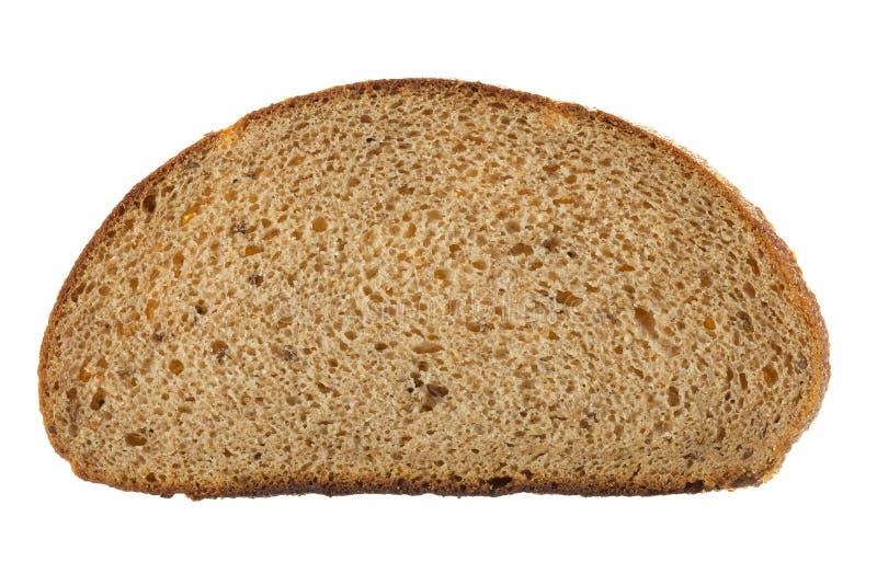 Fetta di pane fotografie stock