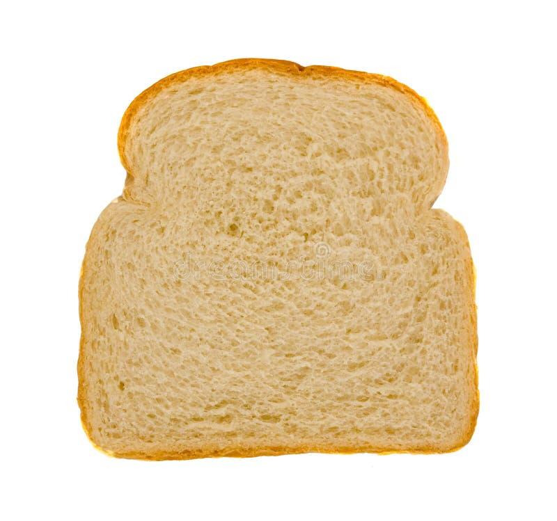 Fetta di pane bianco fresco fotografia stock