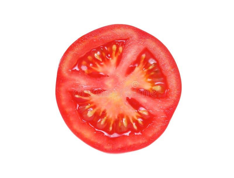 Fetta di pomodoro immagini stock