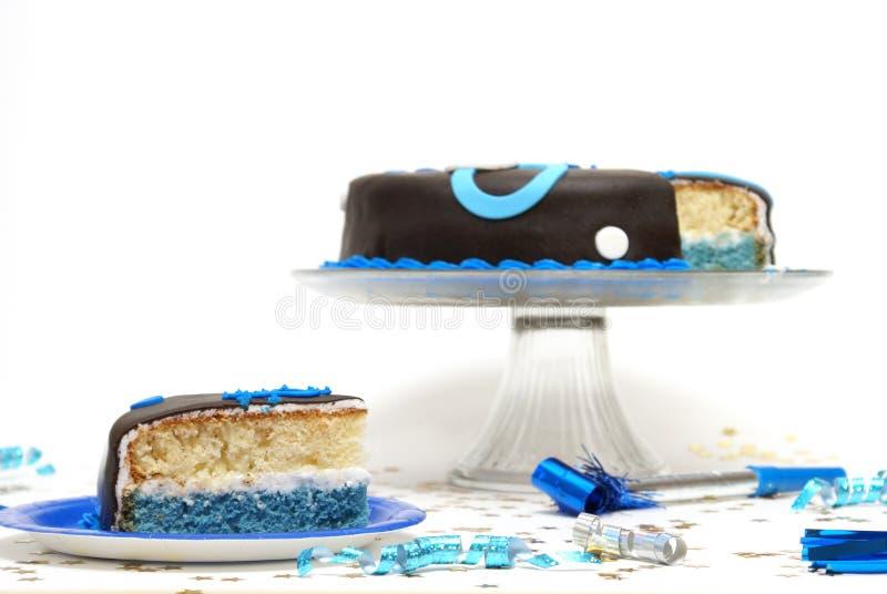 Fetta di torta fotografie stock