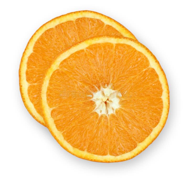 Fette Arancioni Fotografia Stock Libera da Diritti