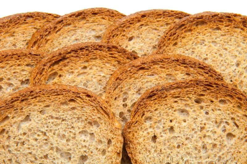 Fette del pane tostato immagine stock libera da diritti