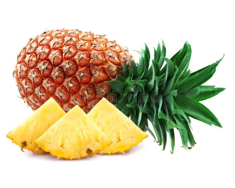 Fette dell'ananas fotografie stock