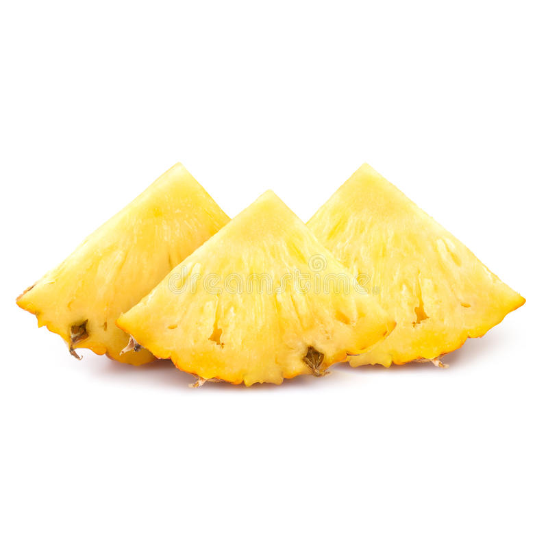 Fette dell'ananas immagine stock
