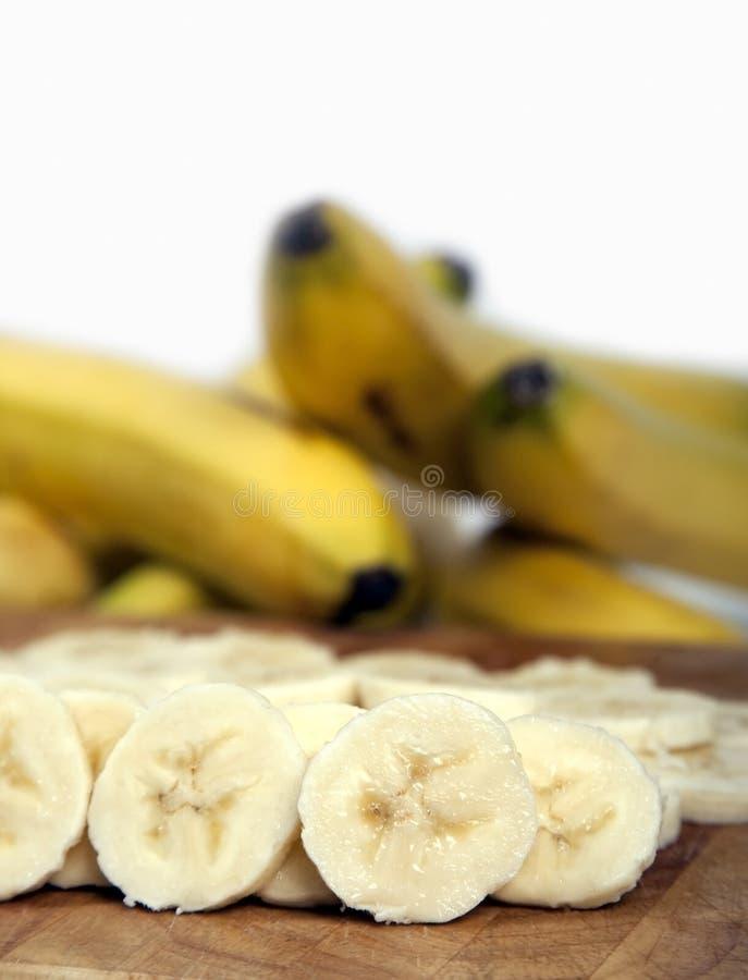 Fette della banana immagini stock libere da diritti