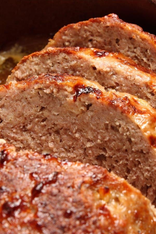 Fette di carne immagine stock