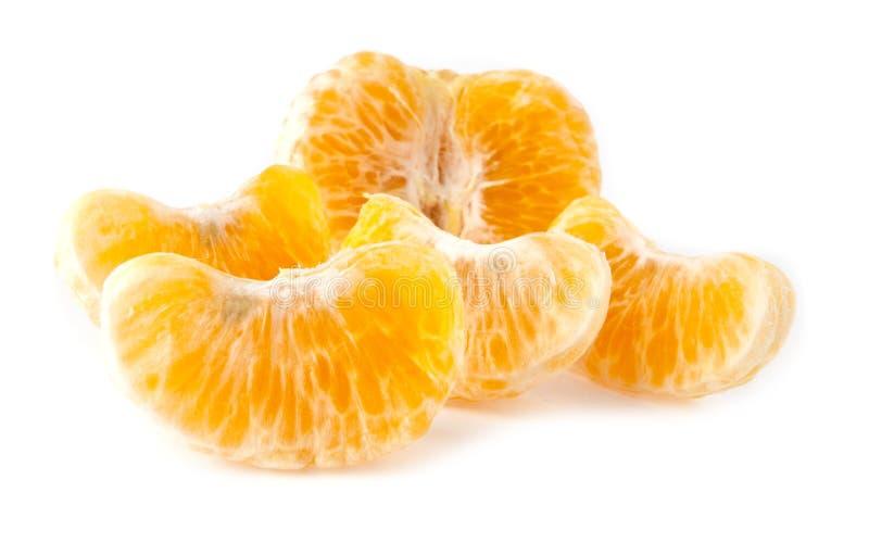Fette di mandarino fotografia stock
