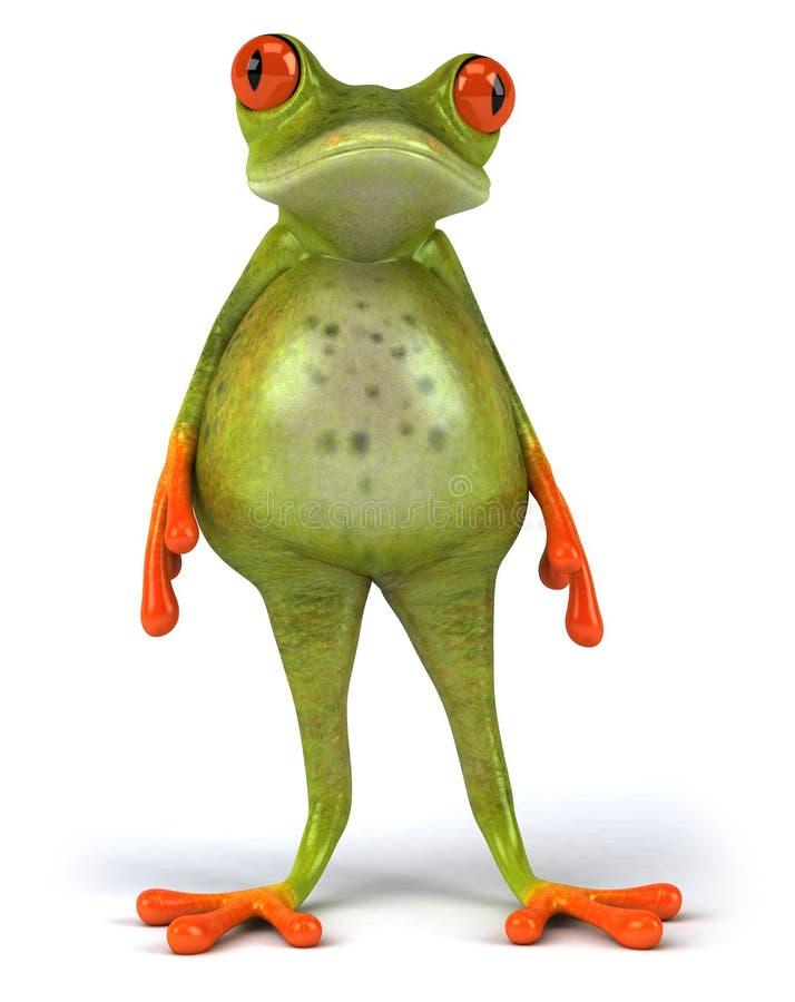 Fetter Frosch stock abbildung