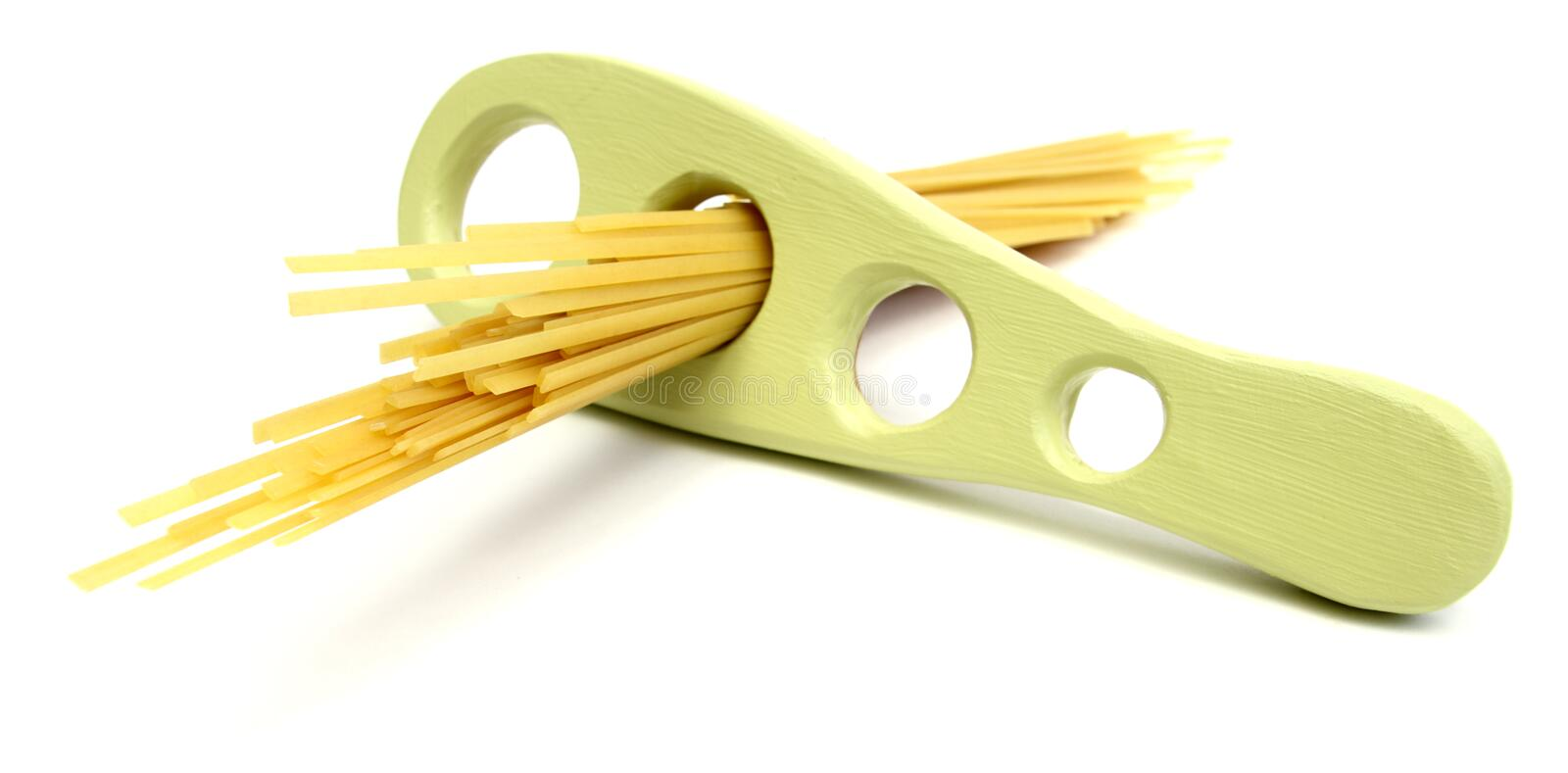 Fettuccini portion royalty free stock images